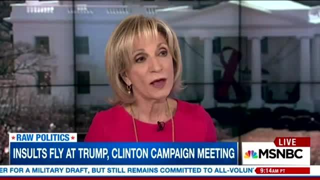 Andrea Mitchell: Voters Saw Hillary as 'Man,' 'Did Not See Humanity in Her'