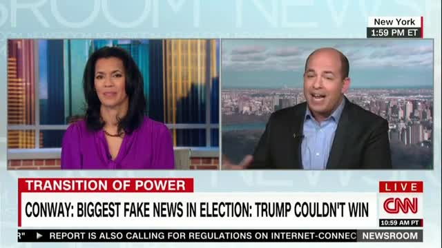 CNN's Stelter Lumps 'Far Right Wing' Breitbart in with 'Made-Up Websites'