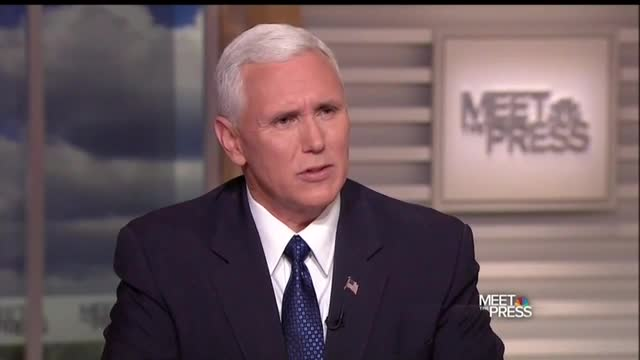 'Meet the Press:' Todd Grills Pence for 700 Carrier Jobs Still Leaving US