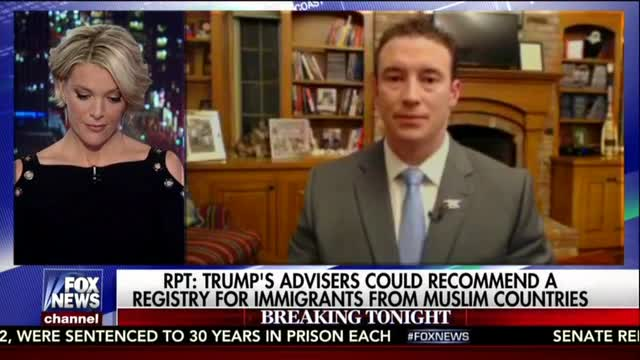 Higbie Supports Registry for Immigrants from Muslim Countries, Not Internment