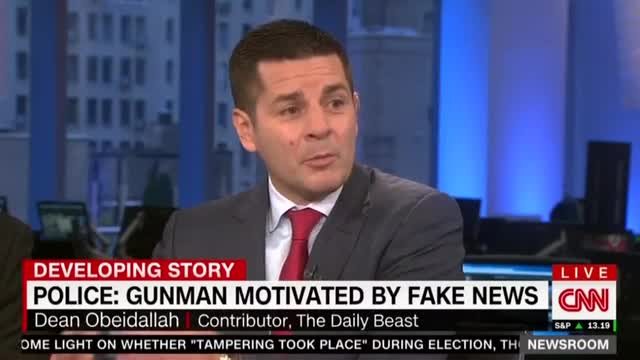 Daily Beast Writer: Fake News 'Radicalized' Pizzagate Shooter Like ISIS