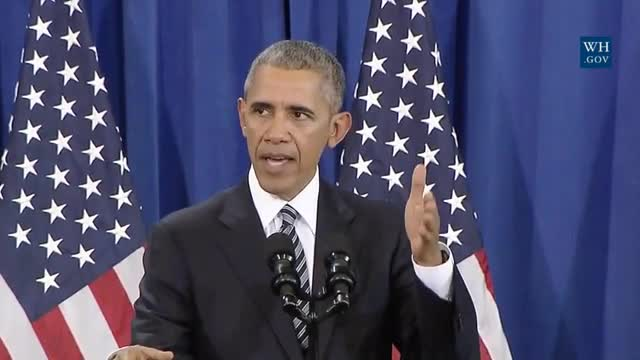 Obama Reminds Troops They Have the Right to 'Protest Against Authority' and 'Criticize Our President'