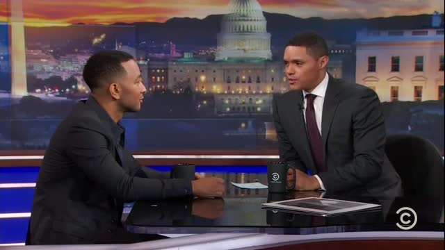 John Legend on Daily Show