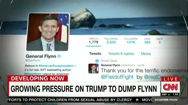 CNN Touts Liberals Slamming Flynn in Letter Citing CNN Distortions