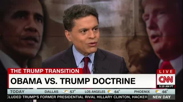 CNN's Zakaria Dismisses Terrorism Threat as 'Trivial' in US, More People 'Drown in Their Bathtubs'