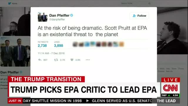 CNN Stokes Fear for America's Air and Water Under Trump