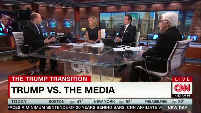 CNN Funny: The Media Has 'Always' 'Been Adversarial with the President'