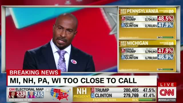 CNN's Van Jones Freaks Out Over Trump Election Victory