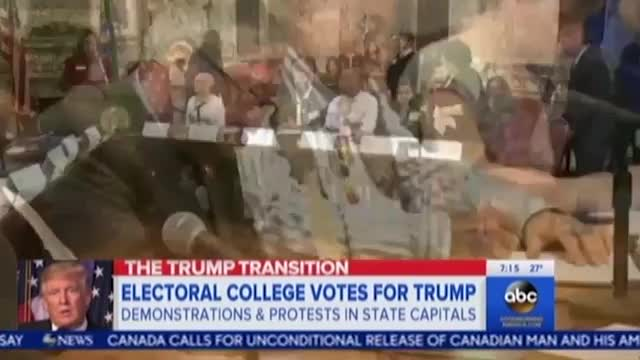 ABC, NBC Ignore Clinton Losing More Electoral Votes from 'Faithless' than Trump