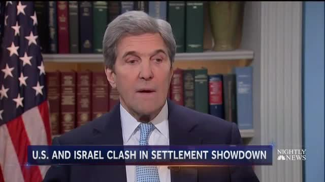 NBC Goes All In to Back Secretary Kerry on Israel Double-Cross