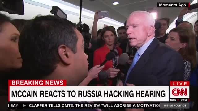 Obsessed Reporters Hound McCain to Say Trump Won Illegitimately