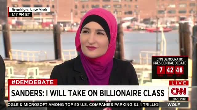 CNN's Lemon: 'Sanders Supporter' Sarsour Is 'Co-founder of Muslim Democratic Club of New York'