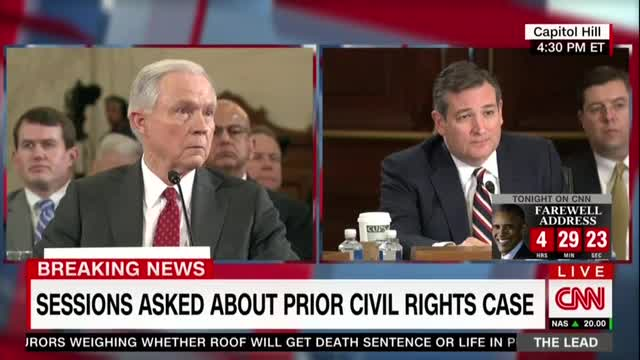 Nets Fail Cruz's Challenge, Censor Sessions Destroying Alabama KKK