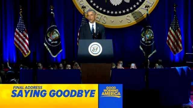 Nets Lavish 17 Times More Coverage on Obama's Farewell Than Bush's