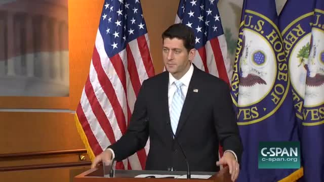 Speaker Ryan: Planned Parenthood Dollars 'Are Better Directed to Community Health Care Clinics'