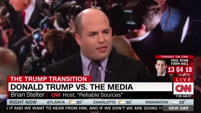 CNN Lectures Trump, Decries 'Far From Normal' Situation With Press