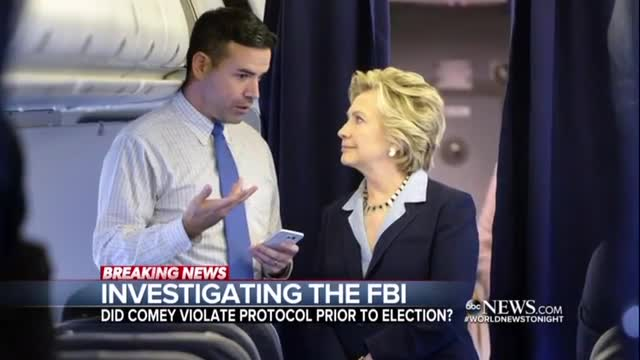 Bitter Nets Tout Investigation into Comey's Clinton E-Mail Probe