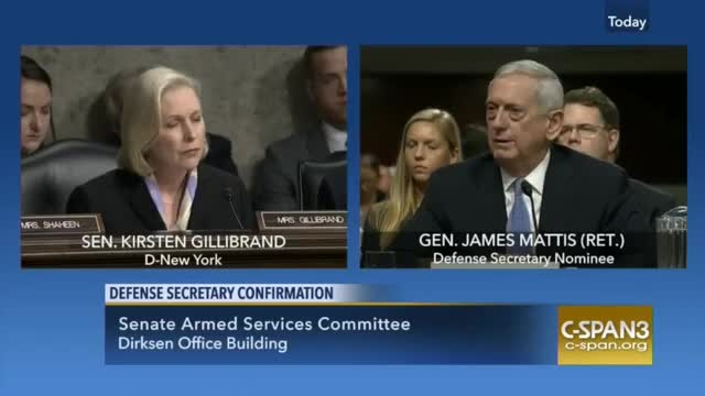 Gen. Mattis Says He Has 'No Plan' to Oppose Women or LGBTs Serving in Military