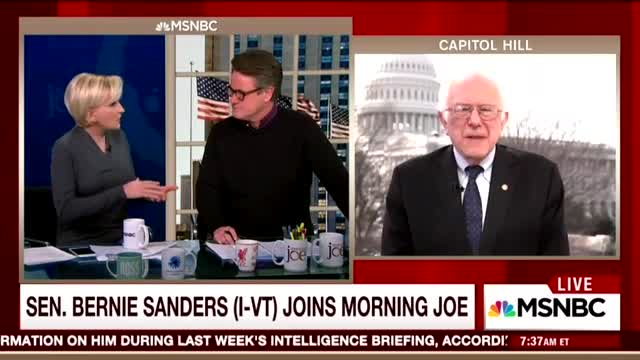 Bernie Sanders Groupie Mika Brzezinski Pleads to Join Senator on Nationwide Tour