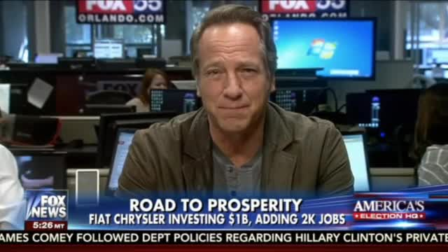 Mike Rowe: U.S. Manufacturing Impacts 'Mood And Morale of The Country'