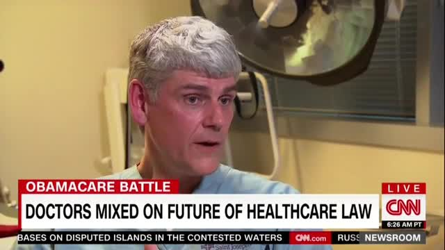 CNN's Gupta Highlights Doctor Who Opposes ObamaCare