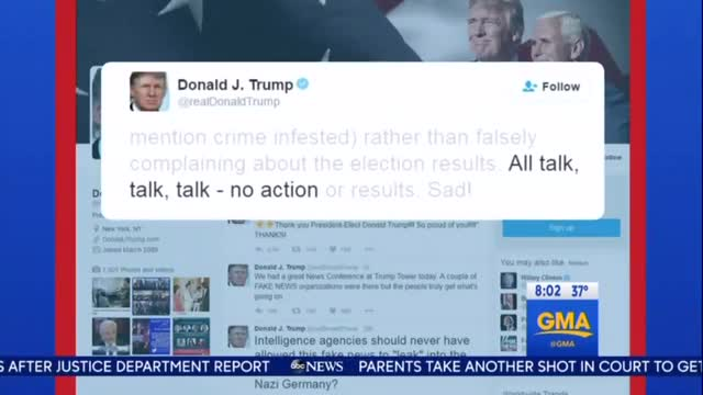 ABC Comes to the Aid of Lewis, Slams Trump for Twitter Attacks