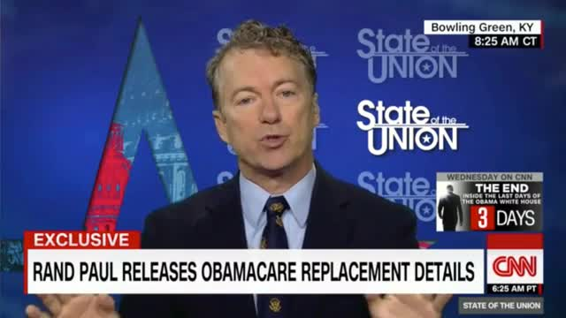 Rand Paul: 'We're Going to Legalize the Sale of Inexpensive Insurance'