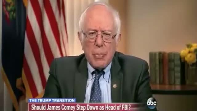 Sanders: 'It Would Not Be a Bad Thing' If Comey Stepped Down