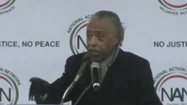 Sharpton Leads Chant: 'We Won't Be Trumped'