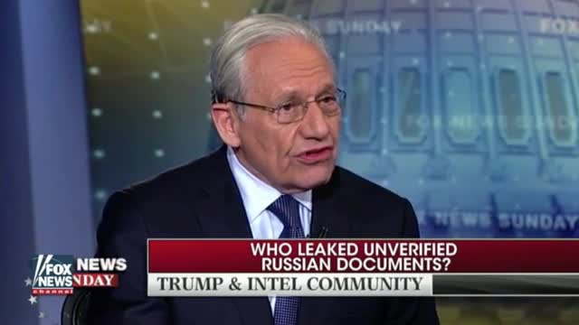'Watergate' Reporter Bob Woodward: Intel Dossier on Trump 'Is a Garbage Document,' He Deserves Apology