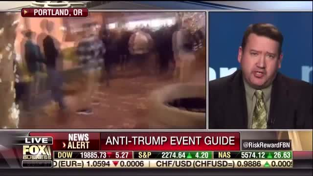 MRC's Tim Graham Slams Media Double Standard Concerning Inauguration Protests