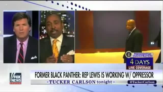 Former Black Panther: 'John Lewis Is the Illegitimate Congressman'