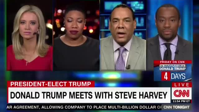 CNN's Hill: Trump Uses 'Mediocre Negroes' in 'Campaign Against Black People'