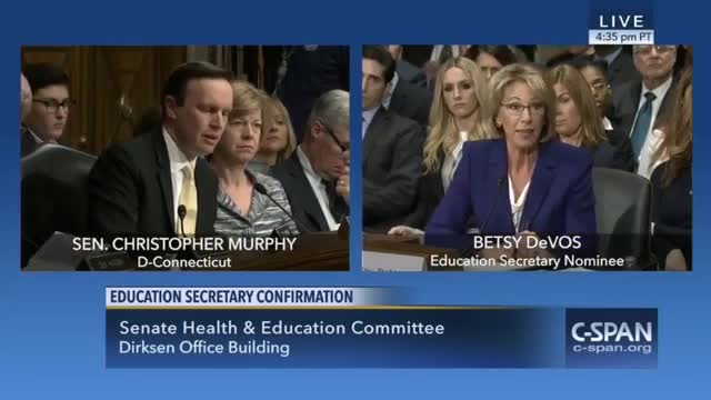 Education Secretary Nominee: Let Localities and States Decide About Guns in Schools