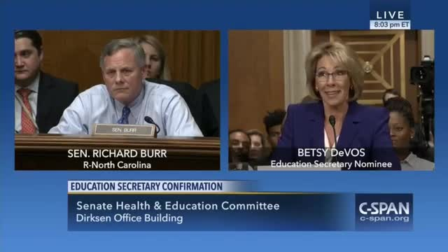 DeVos: 'Human Tendency Is to Protect and Guard What Is, Because Change Is Difficult'