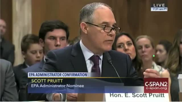 EPA Nominee: 'I Utterly Reject' False Notion That 'If You're Pro-Energy, You're Anti-Environment'
