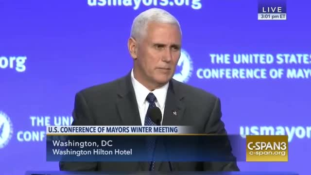 Pence Promises Big Investment in Infrastructure