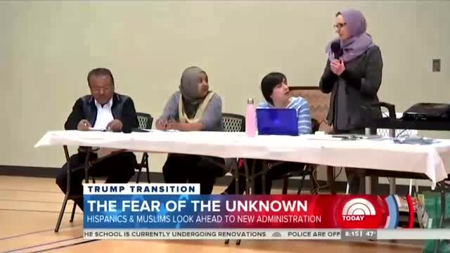 NBC Hypes 'Fears' of Hispanics & Muslims on Eve of Trump Inauguration