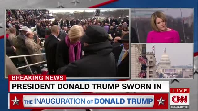 CNN's Borger Whines that Trump Paid No 'Tribute to Hillary'