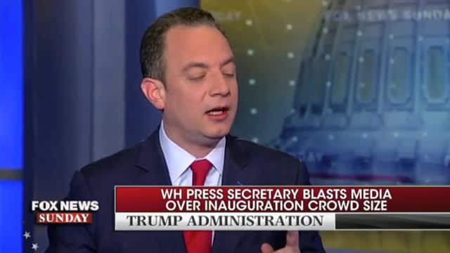 Priebus: 'Not About Crowd Size...What It's About Is Honesty in the Media'