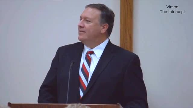 CIA Dir. Pompeo: 'Jesus Christ Our Savior Is Truly the Only Solution For Our World'