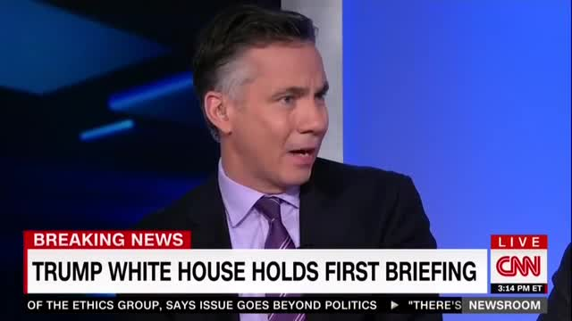 CNN's Jim Sciutto Falsely Claims Trump Didn't Pay Respects to CIA Memorial Wall