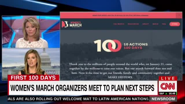 CNN's Baldwin Plays Publicist for Women's March; Promises She'll 'Check Back In'