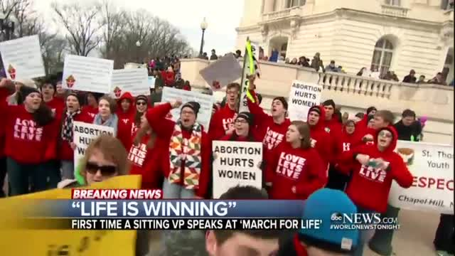 ABC's Mary Bruce on the March for Life