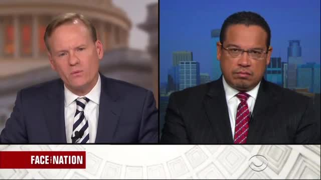 CBS's Dickerson Fails to Get Ellison to Address ADL Slam Over Anti-Israel Speech