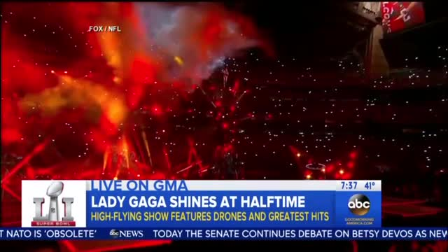 GMA's Hackett: Would've Been 'Appropriate' for Gaga to Make Super Bowl 'Political'