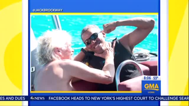 Media Gush Over 'Athletic' 'Smiling' Obama on Vacation