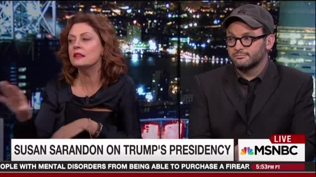 Susan Sarandon Blasts Media, Dems for Underestimating Voters During 2016 Election