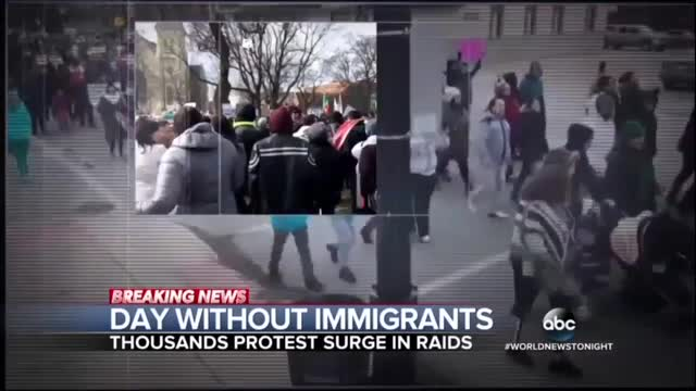 Nets Highlight Immigrant Anti-Trump Protests Around the Country