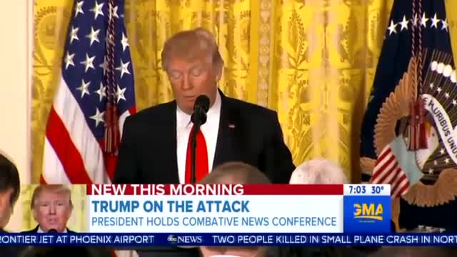 Nets Freak Out Over Trump Presser: 'Combative,' 'Shocking,' 'Unhinged'